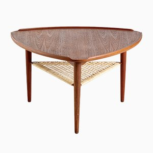 Table Basse par Johannes Andersen pour CFC Silkeborg, Danemark, 1960s