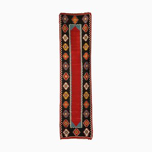 Türkischer Mid-Century Kelim Wollteppich