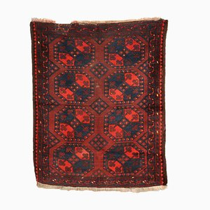 Vintage Afghan Bokara Carpet