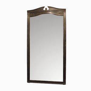 Großer französischer Vintage Spiegel, 1930er