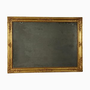 Large 19th Century Italian Gilded Mirror
