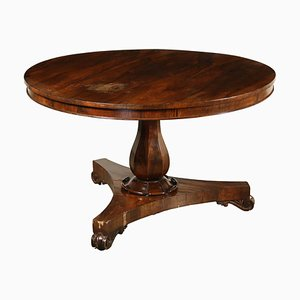 Antique Rosewood Tilt-Top Table