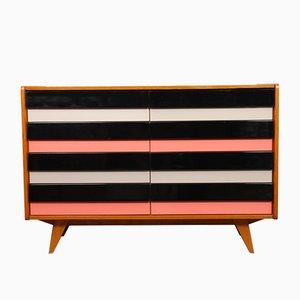 Oak Dresser by Jiří Jiroutek for Interier Praha, 1960s