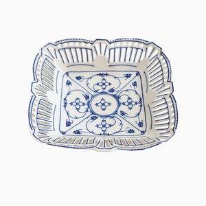 Antike deutsche Porzellanschale im Jugendstil von Schwarzenhammer Bavaria Porzellan