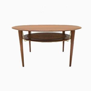 Tavolino da caffè di Peter Hvidt & Orla Mølgaard-Nielsen per France & Søn, anni '60