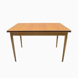 Scandinavian Teak Extendable Dining Table, 1960s