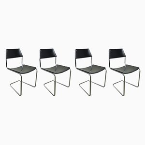 Cantilever Dining Chairs by Walter Papst for Mauser Werke, 1950s, Set of 4