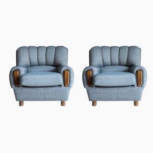 Spanische Sessel, 1950er, 2er Set