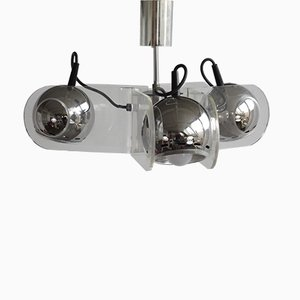 Lámpara colgante 540 de Gino Sarfatti para Stilnovo, años 60