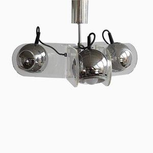 Lampe à Suspension 540 par Gino Sarfatti pour Stilnovo, 1960s