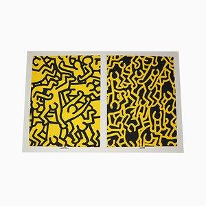 Póster Playboy KH86 de Keith Haring, años 90