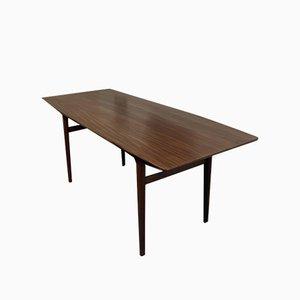 Tavolo da pranzo in afrormosia di John Herbert per A. Younger, anni '60
