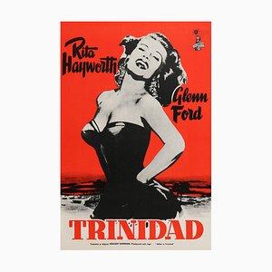 Affiche Mid-Century Affair in Trinidad par Engel, Finlande, 1952