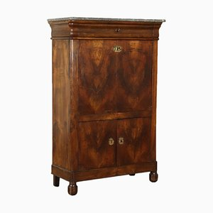 Antique French Walnut Secretaire