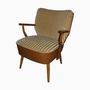 Mid-Century Sessel mit Bezug aus Skai, 1950er