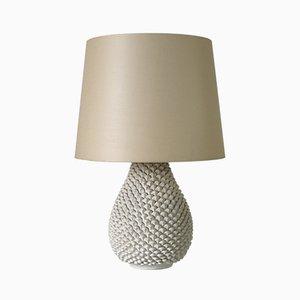 Lámpara de mesa italiana de cerámica de Marcello Fantoni para Fantoni, años 60