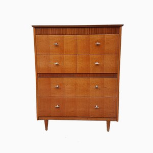 Danish Oak Veneer Dresser from Lebus, 1970s