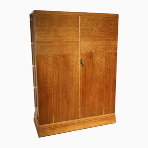 Art Deco Oak Wardrobe from Compactom, 1930s