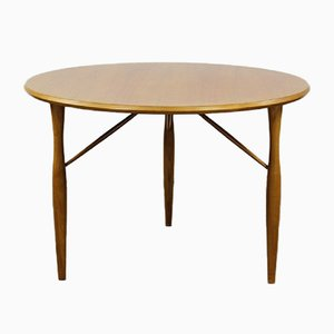 Mid-Century German Cherry Coffee Table from Wilhelm Renz
