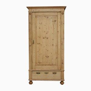 Mueble alemán antiguo de madera