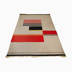 Tschechischer Mid-Century Teppich aus Wolle von Antonin Kybal, 1950er