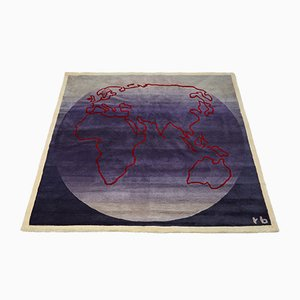 Vintage Wool Carpet by Rolf Brenner, 1990s