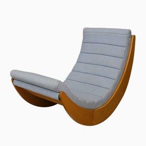 Danish Rocking Chair by Verner Panton for Rosenthal, 1974