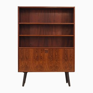 Mid-Century Danish Rosewood and Veneer Shelf, 1960s