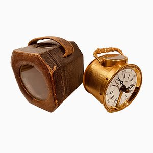 Orologio antico placcato in oro, Francia