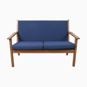 Dänisches Modell GE-265 2-Sitzer Sofa von Hans J. Wegner für Getama, 1960er