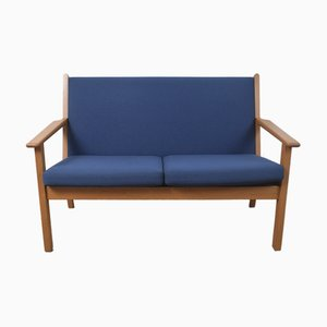 Danish Model GE-265 2-Seater Sofa by Hans J. Wegner for Getama, 1960s