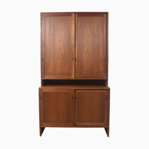 Danish Teak 100 Series Cabinet by Hans J. Wegner for Ry Møbler, 1950s
