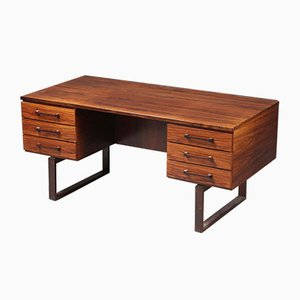 Danish Palisander Desk by Kai Kristiansen, 1950s