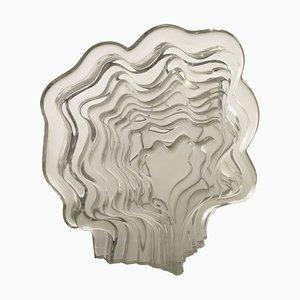 Escultura L'homme Arborescent francesa de vidrio de Jean Pierre Demarchi, años 60