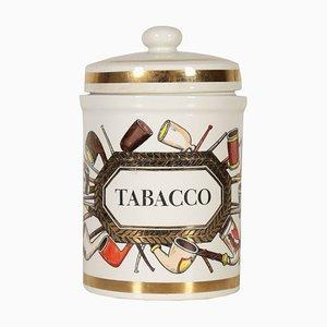 Recipiente para tabaco italiano Mid-Century de Atelier Fornasetti