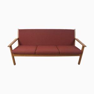 Dänisches Modell GE-265 3-Sitzer Sofa von Hans J. Wegner für Getama, 1960er