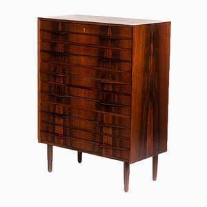 Large Mid-Century Danish Rosewood Chest of Drawers, 1960s