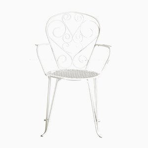 Vintage Wrought Iron Garden Chair, 1970s