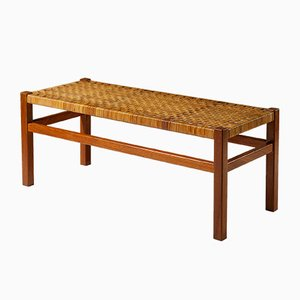 Birch and Cane Bench by Aino Aalto for Artek, 1950s