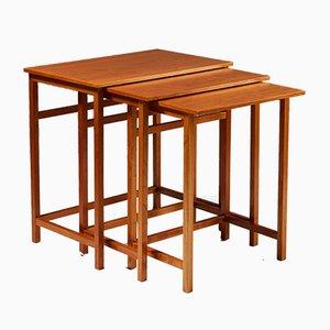 Tavolini a incastro nr. 618 di Josef Frank, anni '50