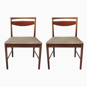Mid-Century Esszimmerstühle aus Teak von McIntosh, 1970er, 2er Set