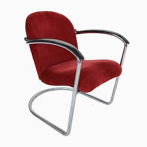 M-414 Armchair by Willem Hendrik Gispen for Gispen, 1960s