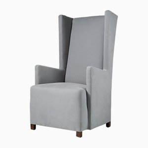 Moderner Armlehnstuhl aus Wolle von Svenskt Tenn, 1930er