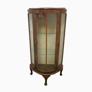 Vintage Art Deco Walnut Cabinet, 1930s