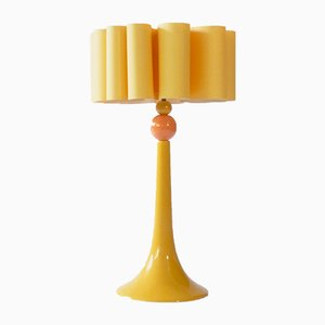 French Ceramic Table Lamp from Louis Drimmer, 1970s