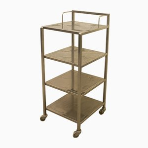 Industrial Steel Bar Trolley from Franke, 1970s