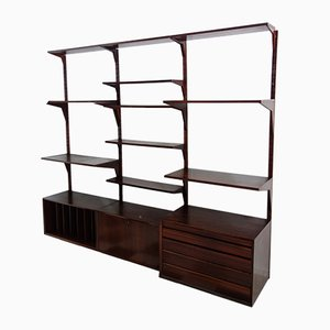 Danish Rosewood Wall Unit by Poul Cadovius for Cado, 1960s
