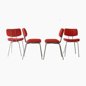 Vintage Side Chairs, 1970s, Set of 8