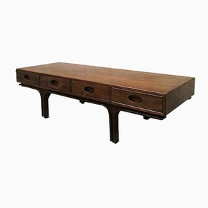 Mid-Century Italian Low Coffee Table by Gianfranco Frattini for Bernini, 1961