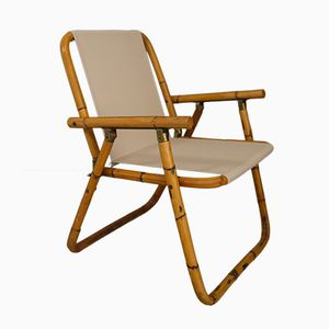 Italian Folding Chairs by Raffaella Crespi, 1950s, Set of 2